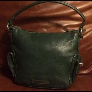 BCBGMaxAzria Bags - BCBGMAXAZRIA Evergreen Leather Satchel
